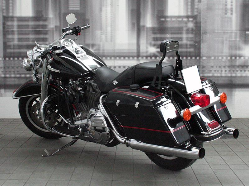 harley davidson polizia 1340 fltp colore nero bordeaux usato in vendita. Black Bedroom Furniture Sets. Home Design Ideas