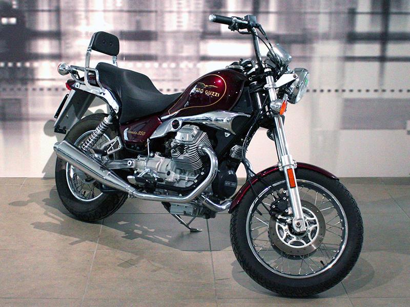 Moto guzzi nevada 350 colore amaranto km 505 usata for Moto usate in regalo