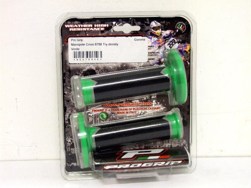 Accessori moto - Pro Grip Manopole Cross 6788 Try density Verde in offerta con sconto 11% prezzo 19,98 euro foto 0
