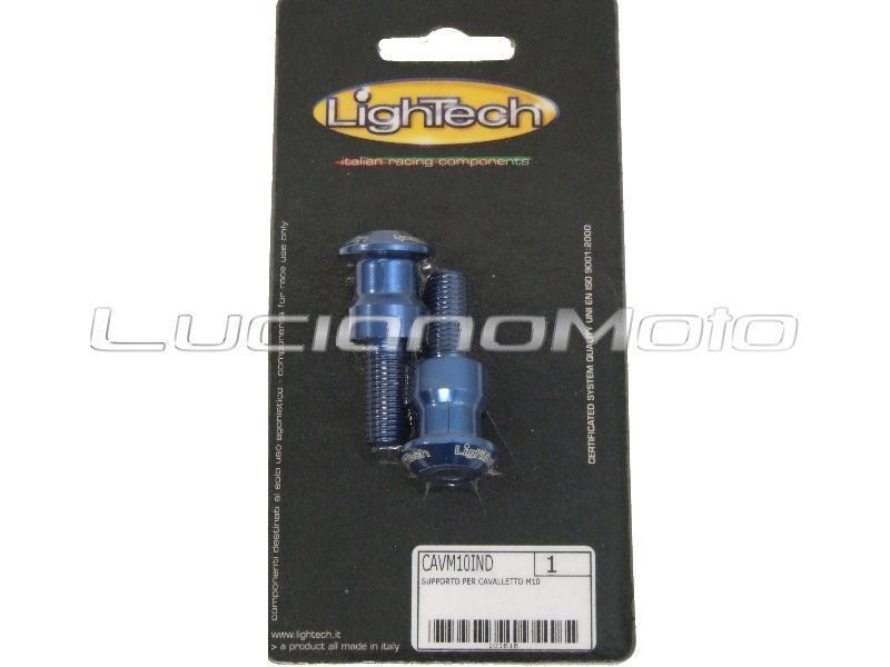 Accessori moto - Lightech CAVM10 Supporti per cavalletto post diam. 10mm Indaco in offerta con sconto 15% prezzo 18,77 euro foto 0