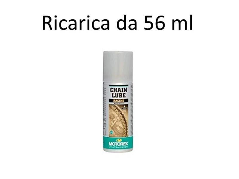 Accessori moto - Motorex Grasso spray catena Racing portatile 56ml mini in offerta con sconto 11% prezzo 8,50 euro foto 0