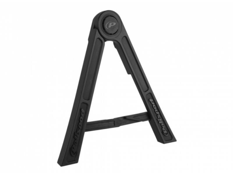 Accessori moto - Polisport Cavalletto laterale richiudibile Tripod moto da cross Nero in offerta con sconto 5% prezzo 28,40 euro foto 0