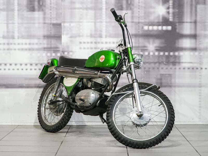 Benelli Leocross 125 Colore Verde Usata Annuncio Vendita Moto Epoca A 20 Minuti Da Torino